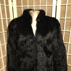 1960s Mink or Rabbit Fur Coat Perfect Condition